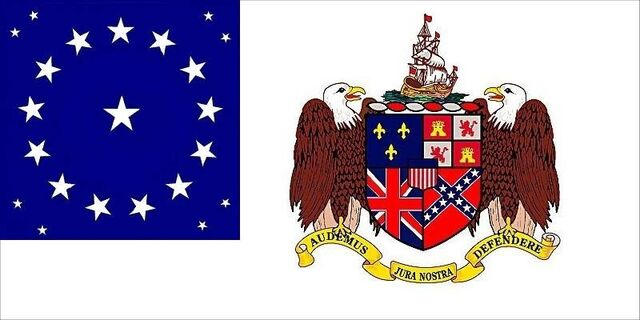 File:Alabama State Flag Proposal 22 Star Medallion Pattern Coat of Arms on White Field Designed By Stephen Richard Barlow 9 May 2014.jpg