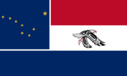 Alaska State Flag Proposal No 1 Designed By Stephen Richard Barlow 08 SEP 2014 at 2118hrs cst