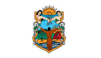 De facto flag of Baja California