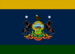Pennsylvania State Flag Proposal No 3 Designed By Stephen Richard Barlow 31 AuG 2014 at 1431hrs cst