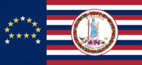 Virginia State Flag Proposal No 18i Designed By Stephen Richard Barlow 20 NOV 2014 at 0704 hrs cst