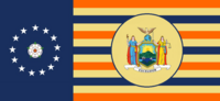 New York State Flag Proposal By Stephen Richard Barlow 07 OCT 2014 at 1037hrs cst
