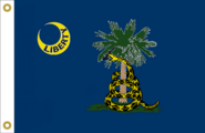 South Carolina State Flag Proposal No. 20a Designed By Stephen Richard Barlow 24 JAN 2015 at 1416 HRS CST