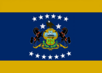 Pennsylvania State Flag Proposal No 15 Designed By Stephen Richard Barlow 01 SEP 2014 at 1718hrs cst