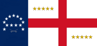Virginia State Flag Proposal No 17 Designed By Stephen Richard Barlow 24 SEP 2014 at 0957hrs cst