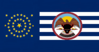 South Dakota State Flag Proposal No 8 Designed By Stephen Richard Barlow 22 AuG 2014 1020hrs