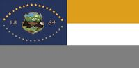 Nevada State Flag Proposal No 3b By Stephen Richard Barlow 18 OCT 2014 at 1402hrs cst