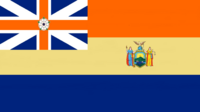 New York State Flag Proposal Designed By Stephen Richard Barlow 30 SEP 2014 at 0935hrs cst