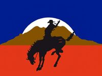 Wyoming State Flag Proposal No 1 Designed By Stephen Richard Barlow 06 OCT 2014 at 0833hrs cst
