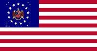 Alabama State Flag Commemorative Bicentennial 22 Star Madallion pattern Design Designed By Stephen Richard Barlow 24 July 2014