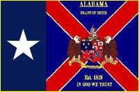ALABAMA STATE FLAG Proposal Designed By Stephen Richard Barlow (20)