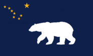 Alaska State Flag Proposal Designed By Stephen Richard Barlow 29 SEP 2014 at 1135hrs cst