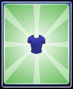 Bleu shirt boy