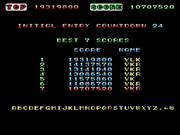 Space Harrier high score