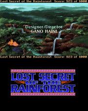 EcoQuest 2 - Lost Secret of the Rainforest Ending