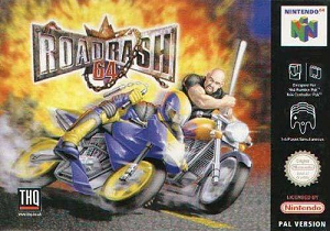 Road Rash 64 cover