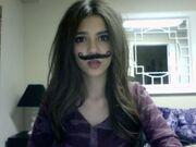 Victoria-Justice-mustache