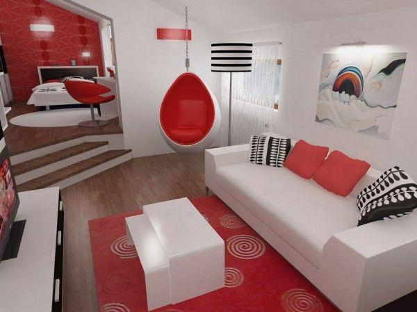 File:Attractive-and-Unique-big-Bedroom-Design-in-Black-Red-and-White.jpg
