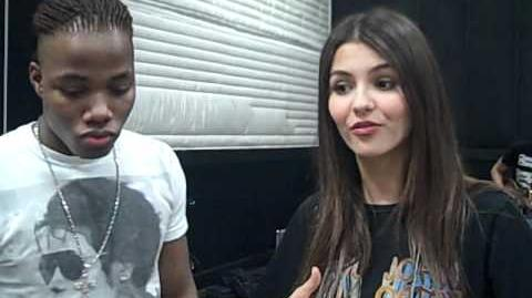 Victoria and Leon at Rehearsal