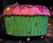 Cupcake float hehehe