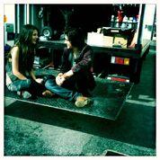 Victoria and Avan at a break