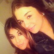 Daniella and a girl