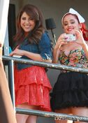 Ariana grande 04462 ariana grande and daniella monet after performing a concert for victorious at the avalon theatre in la may 26 2011 01 122 804lo hSyVpn0.sized