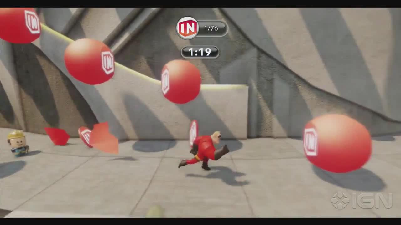 Disney Infinity Walkthrough - The Incredibles Collect Crazy Challenge