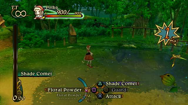 Eternal Sonata PlayStation 3 Gameplay - Forest Path