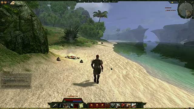 Age of Conan Hyborian Adventures PC Games Gameplay - White Sands