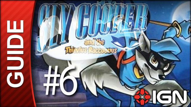 Sly Cooper Thievius Raccoonus Walkthrough - 6 Episode 1 Part 2 High Class Heist