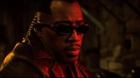 Blade II - Blade interrogates