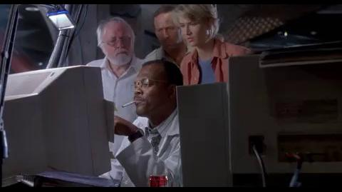Jurassic Park - Can't find the magic word