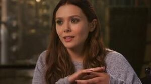 Avengers Age Of Ultron Elizabeth Olsen On Researching The Character Scarlet Witch