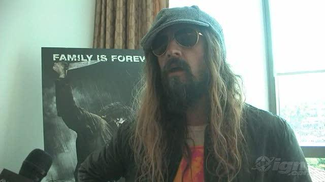 Halloween II (2009) Movie Interview - SDCC 09 Rob Zombie