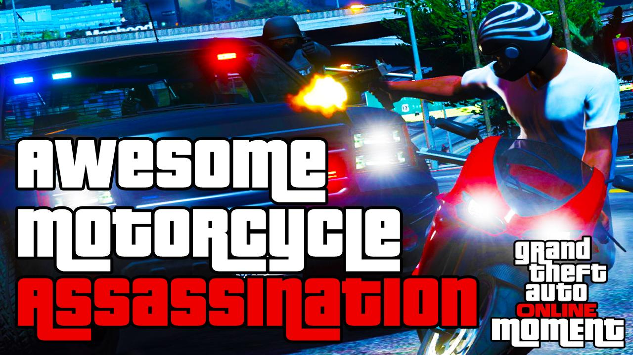 Awesome Motorcycle Assassination- GTA Online
