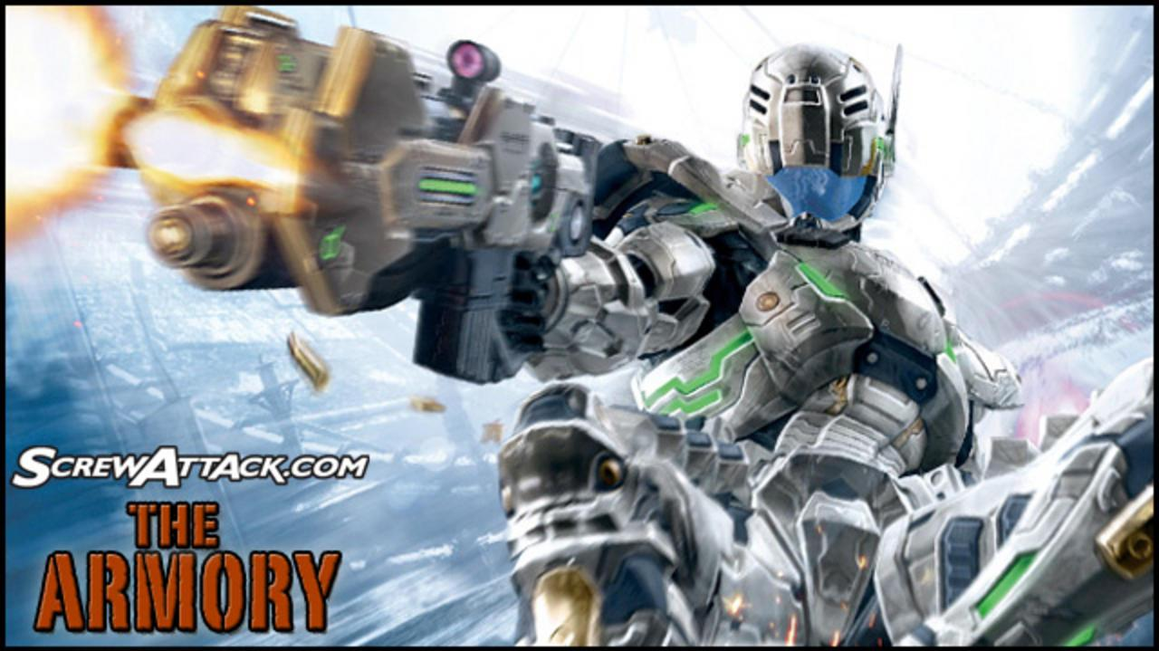 Screwattack The Armory Vanquish - ARS Battle Suit