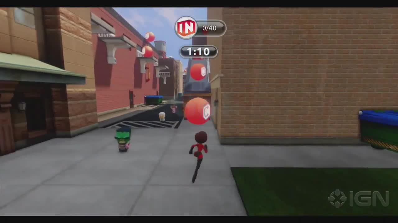 Disney Infinity Walkthrough - The Incredibles Mrs