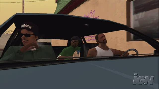 Grand Theft Auto San Andreas Xbox Live Gameplay - Drive-Thru Two
