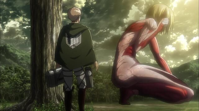 Attack on Titan - Episode 17 - Female Titan - 57th Expedition Beyond the Walls (1)