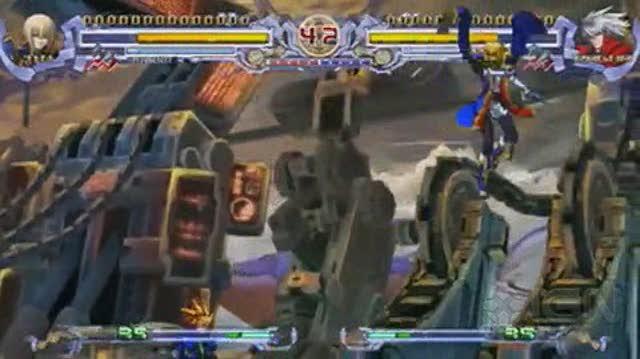 BlazBlue Calamity Trigger Portable Sony PSP Gameplay - Legion