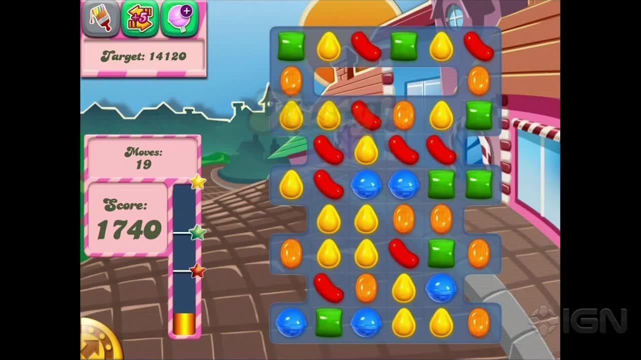 Candy Crush Saga Level 5