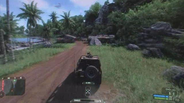 Crysis PC Games Gameplay - Jeep Madness (HD Off-Screen)
