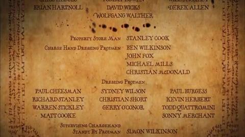 Harry Potter and the Prisoner of Azkaban - End credits Part 4