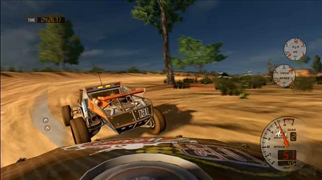 Baja Edge of Control Xbox 360 Gameplay - Endurance Part 2