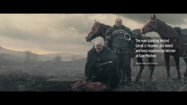 The Witcher 3 Wild Hunt - Cinematic Trailer Fannotation