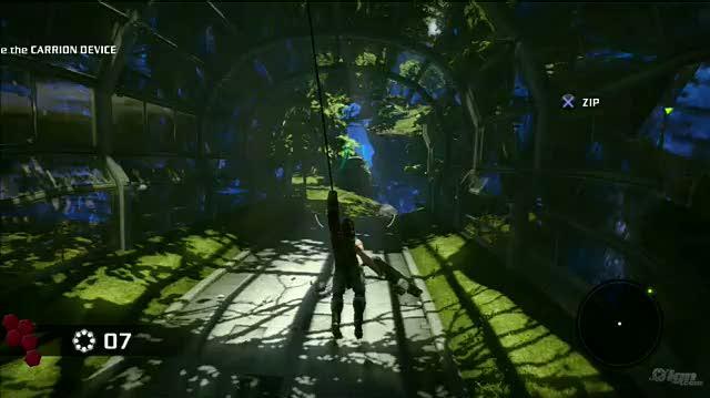 Bionic Commando PlayStation 3 Gameplay - Park Surprise