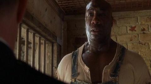 The Green Mile - John promises to behave