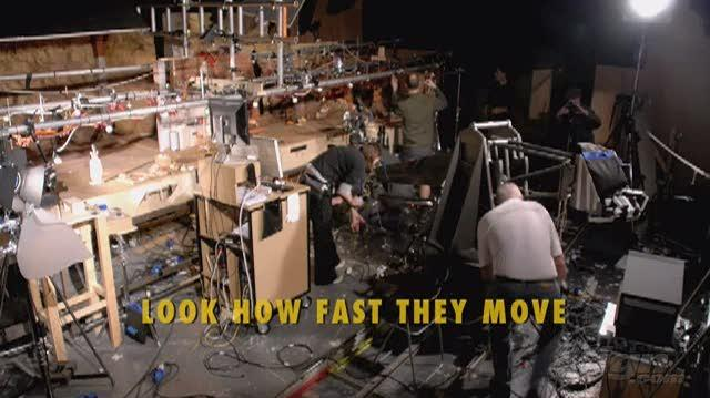 Fantastic Mr. Fox Movie Feature-Behind-the-Scenes - Behind the Scenes