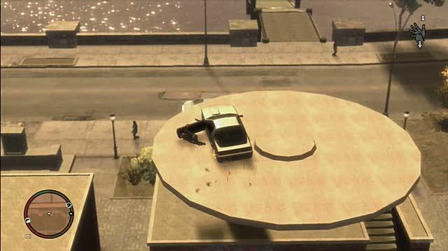 Grand Theft Auto IV Xbox 360 Gameplay - Straight Clippin R.I.P. Niko